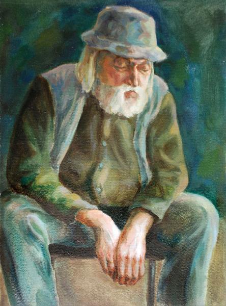 Ксения Потапова.  Портрет с руками / Portrait with hands